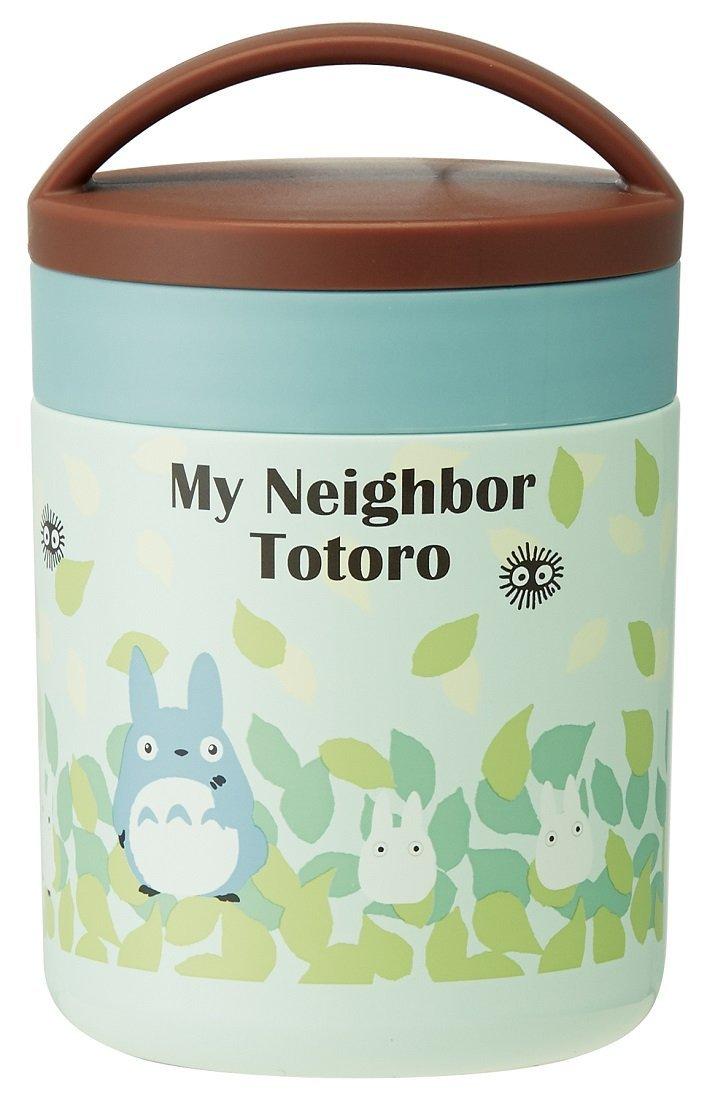 X射線【C311031】龍貓Totoro 超輕量圓型手提直立不鏽鋼保溫便當組300ml,保溫保冷/便當盒/保溫罐/食物罐
