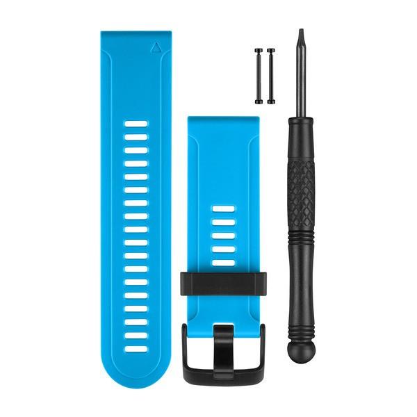 【山姆數位】【現貨 附發票 公司貨】Garmin Fenix 3 矽膠錶帶(藍色)