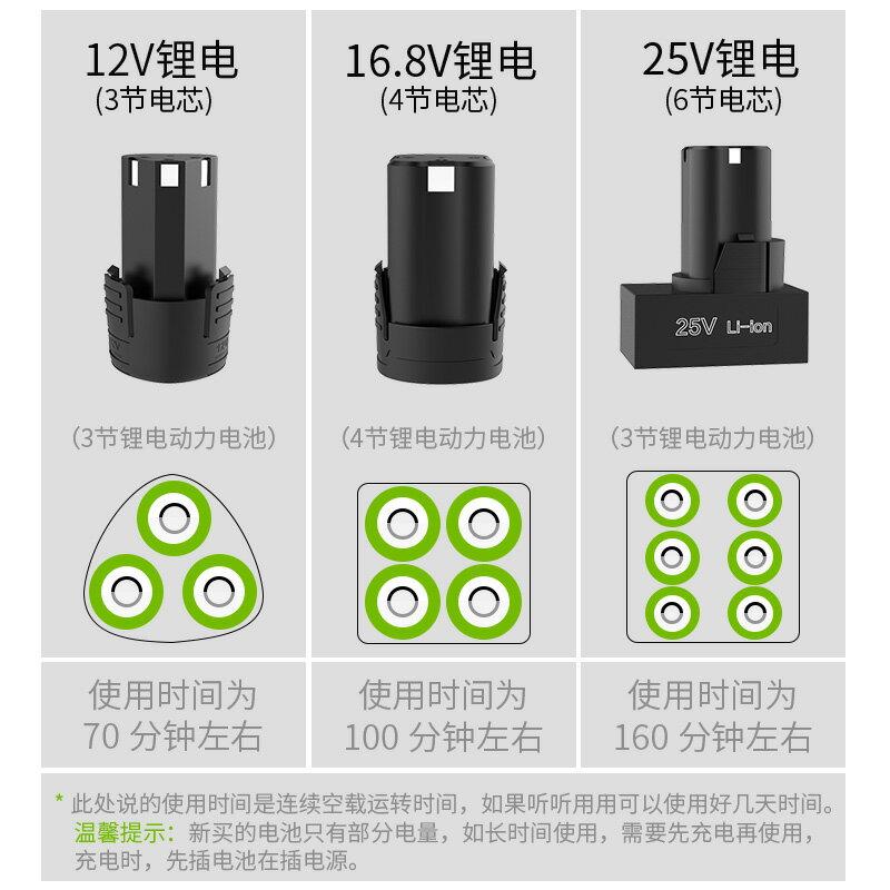 電鉆鋰電池 手電鉆電池16.8V電鉆電池手電轉鉆鋰電池電動螺絲刀12V電鉆充電器『CM43298』