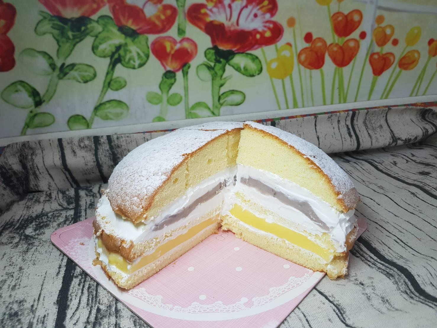 芋泥布丁波士頓蛋糕(8吋)