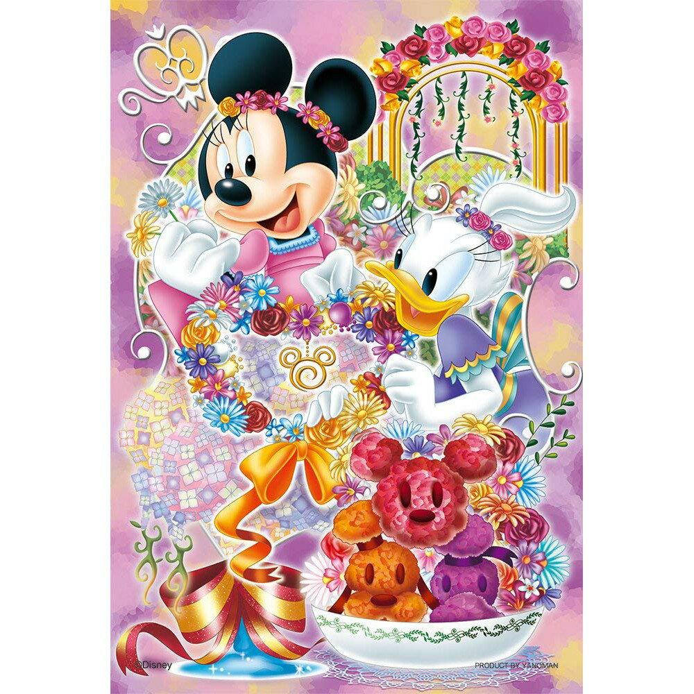 【預購】日本代購 204片 米妮 黛西 好朋友 兒童拼圖 迪士尼 拼圖【星野日本玩具】