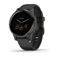Garmin vivoactive 4S, Black/Slate Smart Watch
