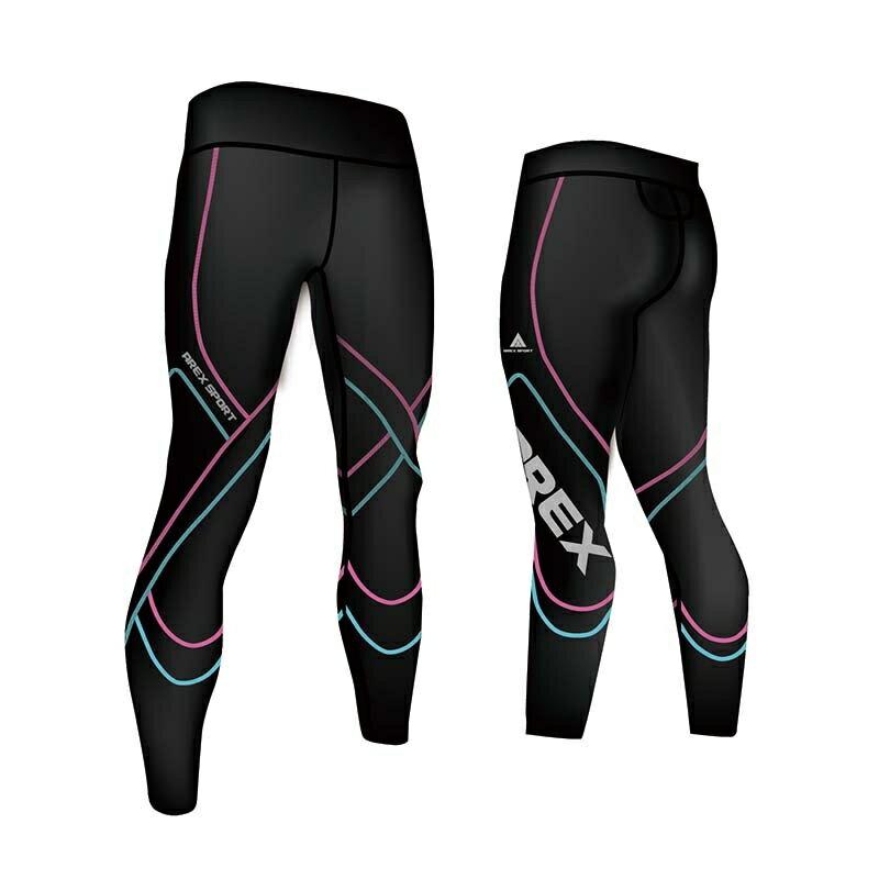 【台灣製-強效專業款】AREX SPORT 女款萊卡經典強力包覆壓縮褲-二代  壓力褲 內搭褲 束褲 緊身褲 XS-XL 2