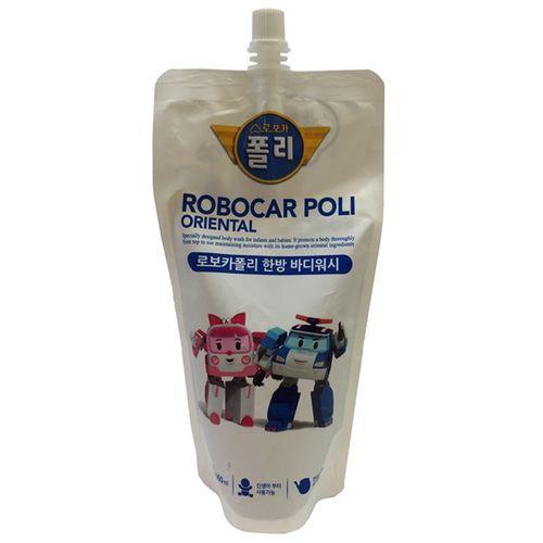★衛立兒生活館★波力 ROBOCAR POLI 漢方兒童2合1洗髮沐浴乳(補充包)360ml