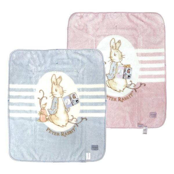 奇哥 比得兔 經典比得兔嬰兒防踢袖毯(80x90公分)(藍/粉)~附贈奇哥提袋