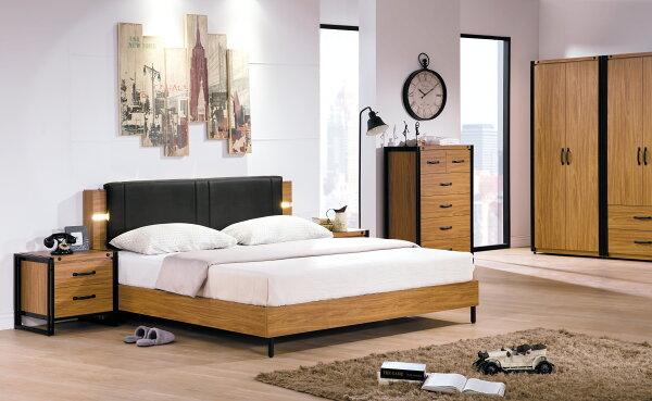 【尚品家具】HY-A75-01伊森工業風5尺床頭片~另有6尺