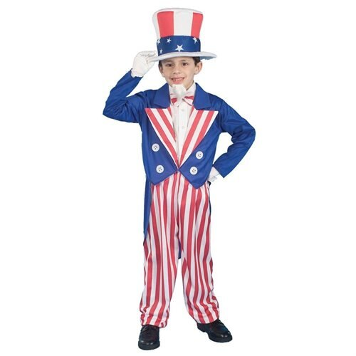 Forum Novelties Inc 20755 Uncle Sam Child Halloween Costume Size Small 0