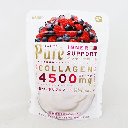 [敵富朗超市]KANRO Pure綜合莓果軟糖(63g) - 限時優惠好康折扣
