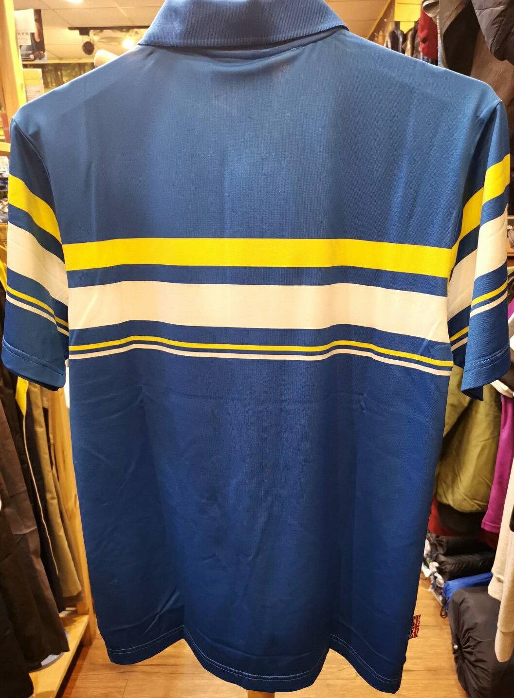 【H.Y SPORT】Slazenger 高彈力抗紫外線吸濕排汗高爾夫球短衫 526004 抗UV/運動/戶外