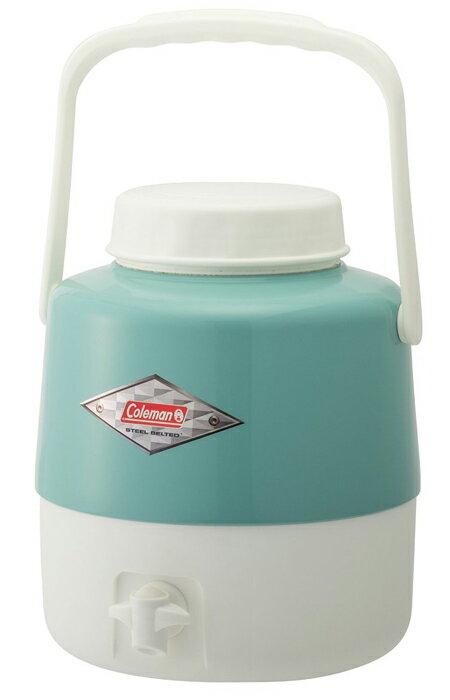 【鄉野情戶外專業】 Coleman |美國| 4.9L 經典復古飲料桶/冰桶 保鮮桶 保冰箱-綠松石/CM-27865M000