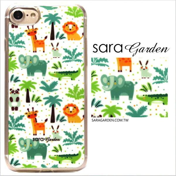 客製化軟殼iPhone88plus手機殼多型號製作全包邊手繪可愛動物