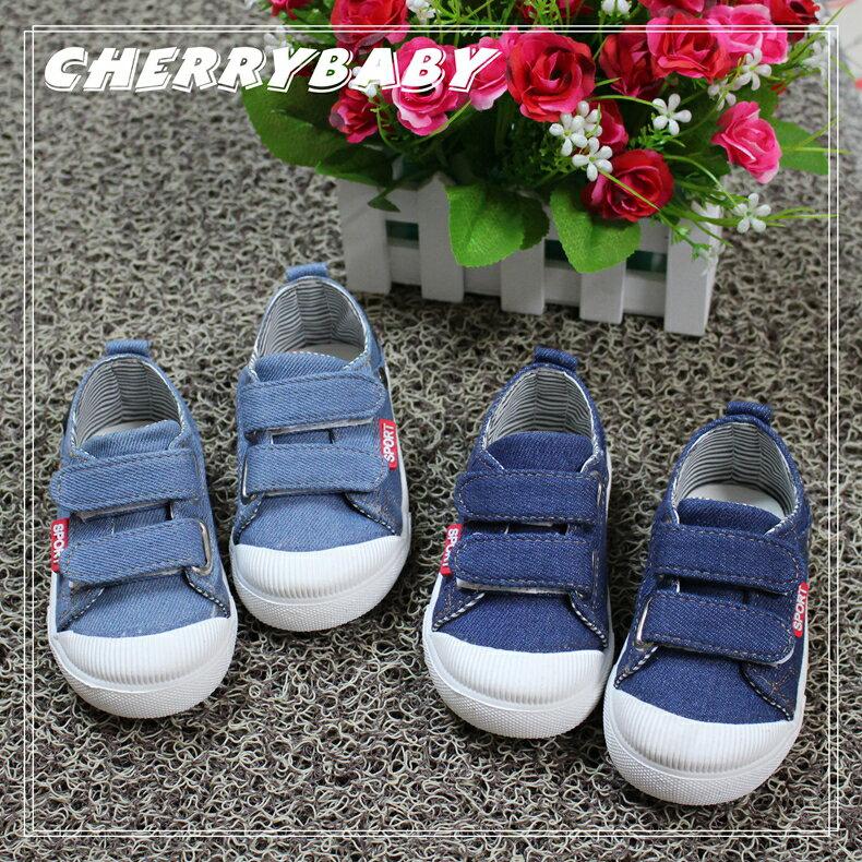 2016韓版新款 兒童帆布鞋 水洗鞋 休閒鞋 牛仔褲鞋
