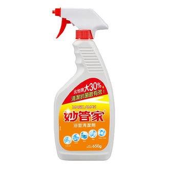 妙管家浴室清潔劑(檸檬)650g(噴槍)【合康連鎖藥局】