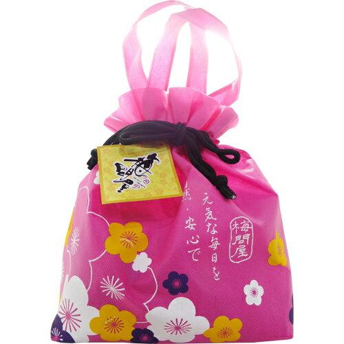 梅問屋京采 A~日式Q梅餅綜合花漾袋300g