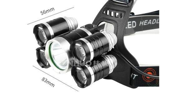 《沛大旗艦店》$470LED頭燈強光LED燈釣魚頭燈釣魚燈夜間照明夜釣戶外強光角度可調白光【S62】
