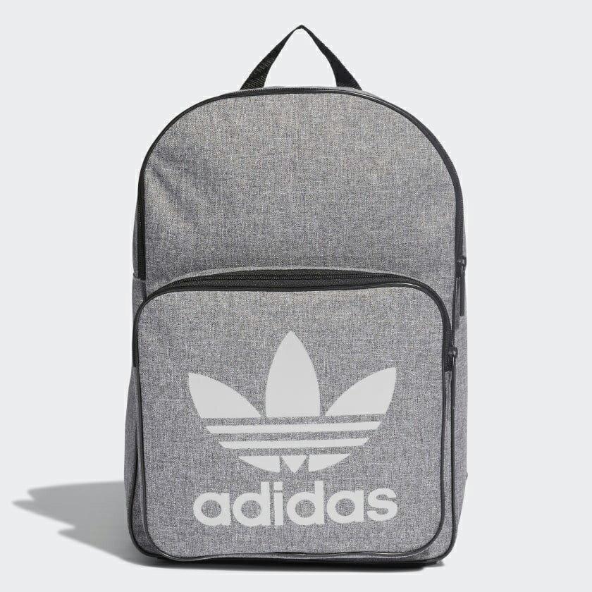 【APP領券再9折】Adidas ORIGINALS CLASSIC CASUAL 背包 後背包 休閒 三葉草 灰【運動世界】 DV2391