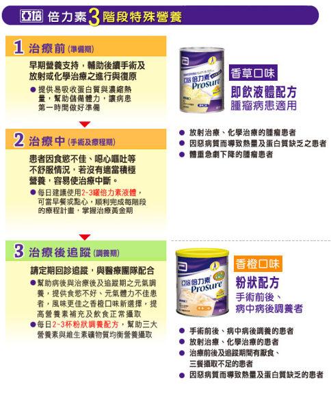 【亞培】 PROSURE倍力素粉(香橙)*2罐(平均1瓶925元) 1