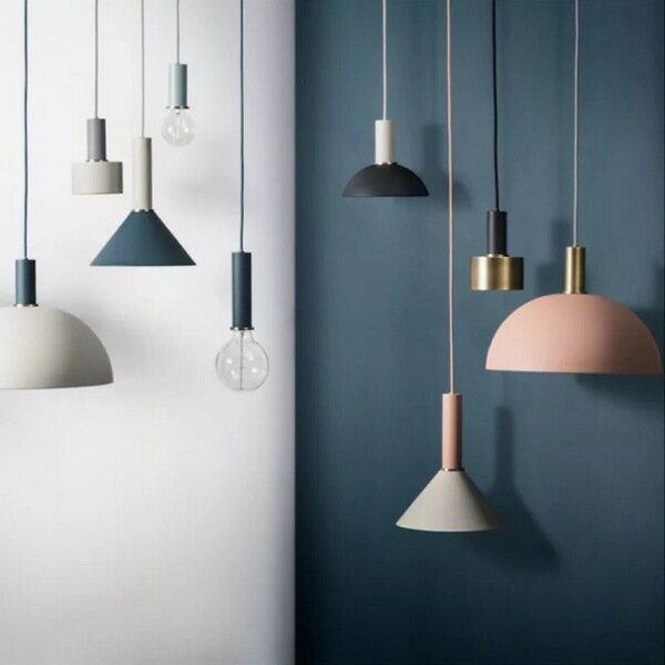 【威森家居】北歐 丹麥 Ferm Living 馬卡龍吊燈 現貨鐵藝現代簡約復古吸頂燈壁燈燈具LED設計師L171120