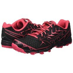 MIZUNO 18FW 輕量 米其林大底 女越野鞋 WAVE HAYATE 4系列 J1GK187209 贈腿套【樂買網】