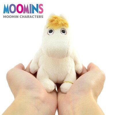 尼德斯Nydus 日本正版 嚕嚕米 Moomin 姆明 絨毛玩偶 娃娃 手偶 黃色頭髮 約11cm