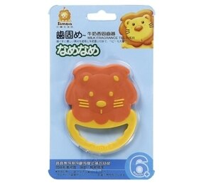 【愛寶媽咪】小獅王辛巴 牛奶香固齒器