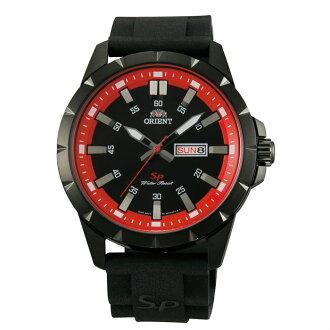 Orient 東方錶(FUG1X007B)運動石英錶腕錶/黑紅面43mm