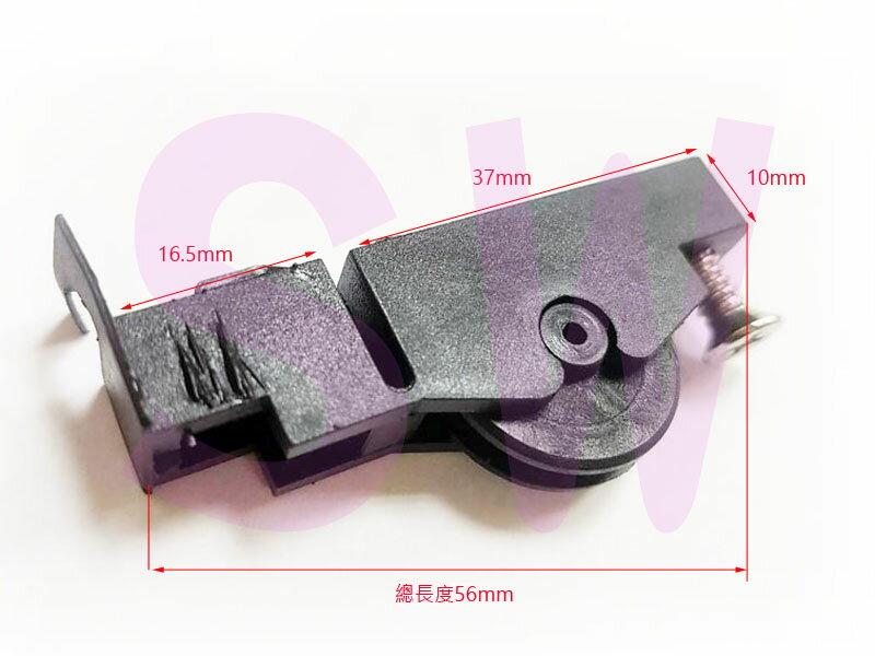 RA-04-1 REBAR力霸紗窗調整輪 有溝 紗門調整輪 紗窗輪 紗門輪 塑膠輪 鋁窗輪 鋁門窗 氣密窗輪 培林輪