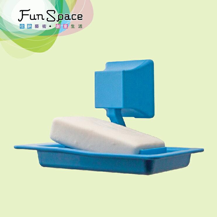 FunSpace雅緻香皂架 吸盤香皂架 無痕香皂架 肥皂架(1入)