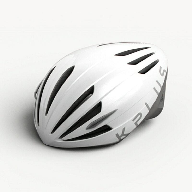 【7號公園自行車】KPLUS QUANTA系列公路競速專用安全帽(白)