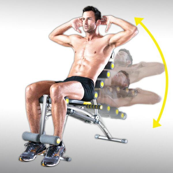 【Rock Gym】8合1搖滾運動機 纖腰 健腹 提臀 S性感 保固一年 永久售後服務(洛克馬企業) 0
