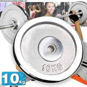 10KG電鍍槓片(單片10公斤槓片.啞鈴片.槓鈴片.舉重量訓練.運動健身器材.推薦哪裡買)C113-A1000