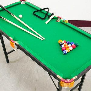 140X64升降折合型撞球台(內含完整配件)折疊撞球桌.撞球桿球杆.摺疊遊戲台遊戲桌遊戲機.球類運動用品.推薦哪裡買C167-Y1403