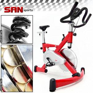 【SAN SPORTS 山司伯特】極速F1磁控飛輪健身車(4倍強度.15公斤飛輪車.室內腳踏車美腿機.推薦哪裡買)C121-92HA