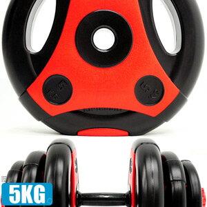 切面5KG手抓孔槓片(5公斤槓鈴片啞鈴片.舉重量訓練.運動健身器材.推薦哪裡買)C171-2105