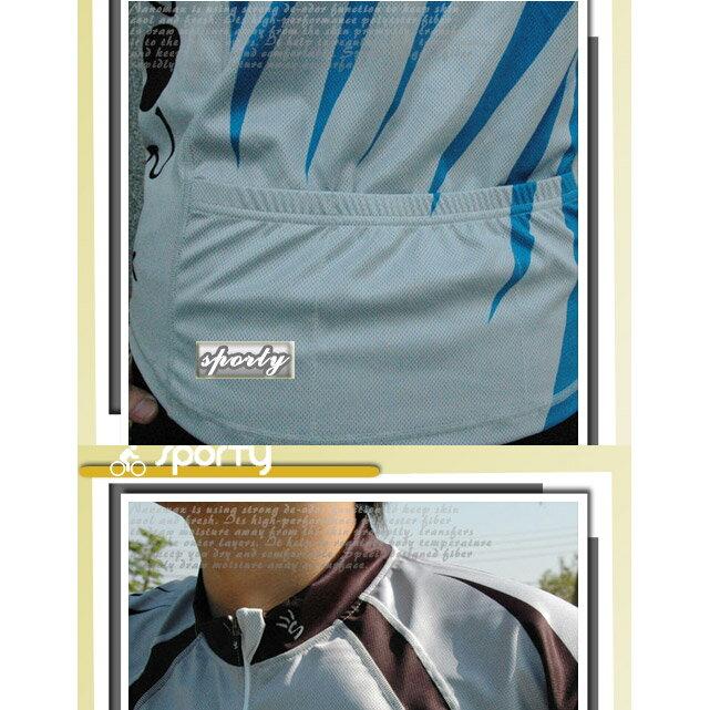 【sporty】LESTER全彩短袖車服.自行車.腳踏車.卡打車.單車.小折.騎行服P082-C0140 1