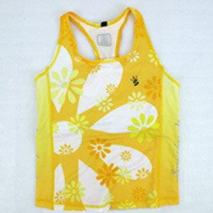 【sporty】黃色女性無袖緊身上衣.自行車.腳踏車.卡打車.單車.小折.車衣.騎行服P082-C0175 0