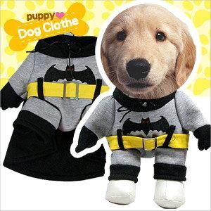 蝙蝠俠 寵物裝^(萬聖節斗篷套裝.披風寵物衣.寵物衣服寵物服裝.小狗衣服貓衣服.用品. 哪
