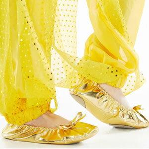 兒童金色平底練習鞋^(芭蕾舞鞋.跳舞鞋.軟鞋.表演服.演出服.舞蹈服.成果展.肚皮舞鞋.舞
