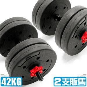 40KG槓片組合+2支短槓心(40公斤啞鈴20公斤+20KG槓鈴.重力舉重量訓練短桿心.運動健身器材.推薦哪裡買)M00123