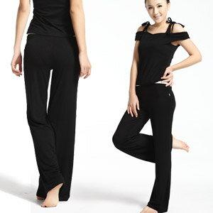 【DENLUS】天蠶絲有氧韻律瑜珈運動套裝(DL109202上衣+DL109801褲子) .健身.有氧