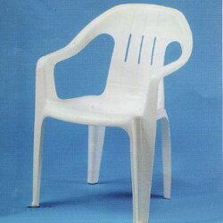 中背椅.庭院家具.塑膠椅