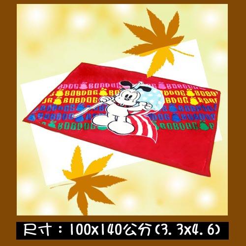 波波狗雙面毯D02~19
