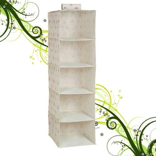 五層置物吊櫃105x34x30cm(儲物櫃.收納櫃子.衣物櫃.不織布收納架.收納傢俱.便宜)