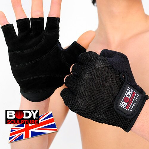 ~BODY SCULPTURE~BW~84 舒適 手套^(半指手套.露指手套.健身手套.