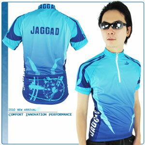JAGGAD 深海藍短袖車衣.自行車.腳踏車.單車.小折.騎行服 - 限時優惠好康折扣