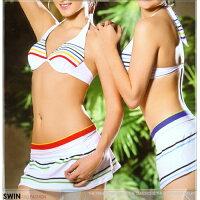 心機三件式泳衣到『泳裝出清』條紋款三件式泳裝.運動就在時代廣場推薦心機三件式泳衣