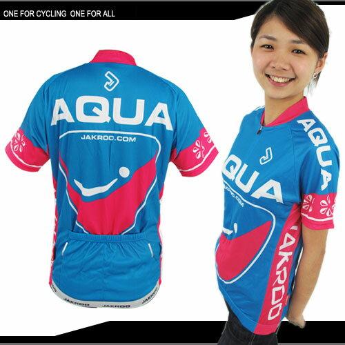 JAKROO捷酷 女款短袖車衣.自行車.腳踏車.單車.小折.騎行服 - 限時優惠好康折扣