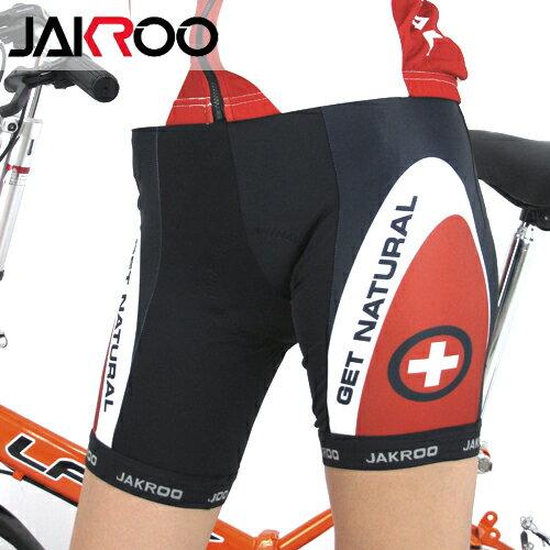 JAKROO捷酷 國家系列-瑞士短車褲.自行車.腳踏車.單車.小折.騎行服 - 限時優惠好康折扣
