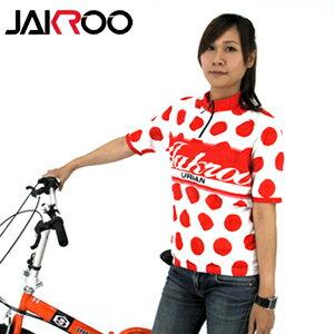 JAKROO捷酷 城市系列-登山圓點杉.自行車.腳踏車.單車.小折.騎行服