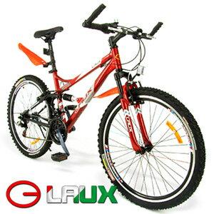 【LAUX 雷克斯】啟航 26吋18速避震登山車及腳踏車.自行車.卡打車.單車(95%組裝完成) - 限時優惠好康折扣